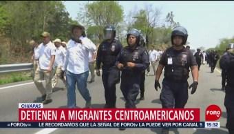 Foto: Trasladan a migrantes asegurados a estación migratoria