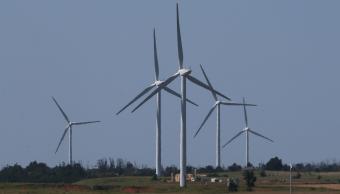 Foto: Turbinas eólicas en Oklahoma, Estados Unidos, 12 de junio de 2017, Oklahoma, Estados Unidos