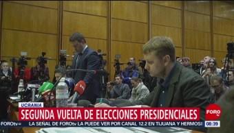 FOTO:Ucrania celebra segunda vuelta de elecciones presidenciales, 21 ABRIL 2019