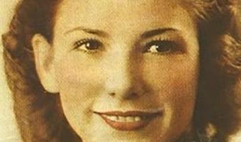 Una pintura fotográfica antigua de Rose Marie Bentley en los años 40 (Newsweek)