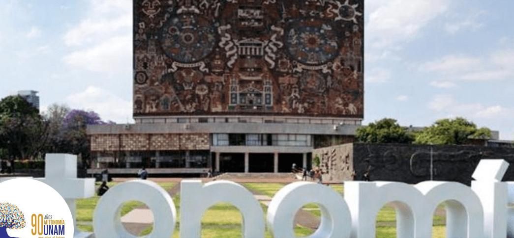 FOTO UNAM conmemora 90 años de autonomía política (Twitter @UNAM_MX abril 2019)