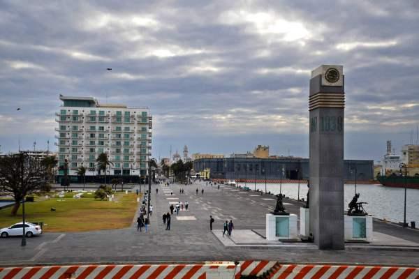 FOTO Veracruz, primer ayuntamiento de América, conmemora 500 años (EFE 4 abril 2019 veracruz)