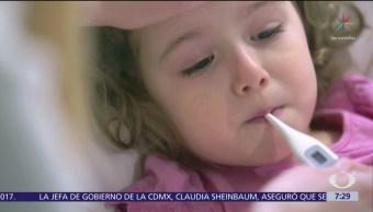 Virus del sarampión fue importado de regreso a México