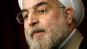 Sanciones de EE.UU. son 'una guerra sin precedentes', dice el presidente de Irán