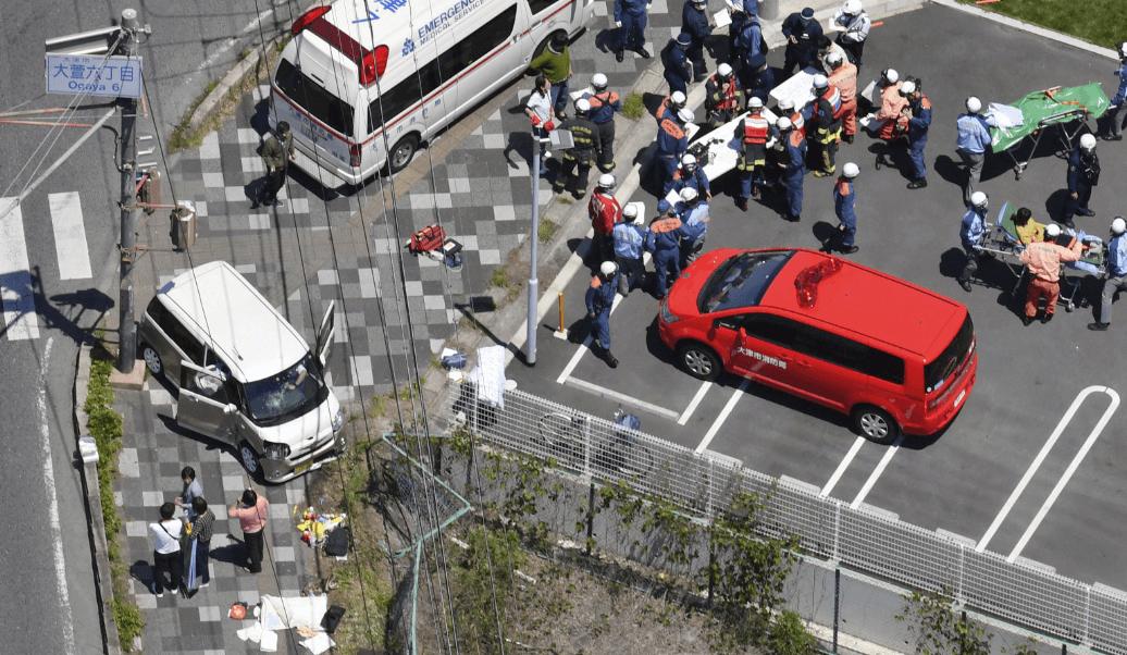 Foto: Accidente deja dos niños muertos en Japón, 8 de mayo de 2019