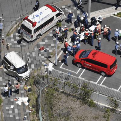 Mueren dos niños durante atropellamiento de varios menores en Japón