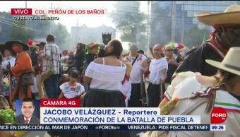 FOTO: Alistan conmemoración de Batalla de Puebla en Peñón de los Baños, 4 MAYO 2019