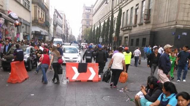 Ambulantes del Centro Histórico de la CDMX temen por extorsiones