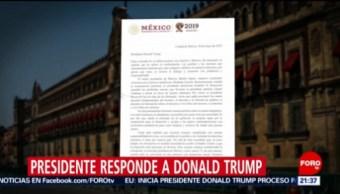 Foto: Amlo Responde Trump Arancel Productos Mexicanos 30 Mayo 2019
