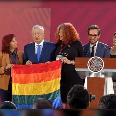 AMLO decreta hoy el Día Nacional de la Lucha contra la Homofobia, Lesbofobia, Transfobia y Bifobia