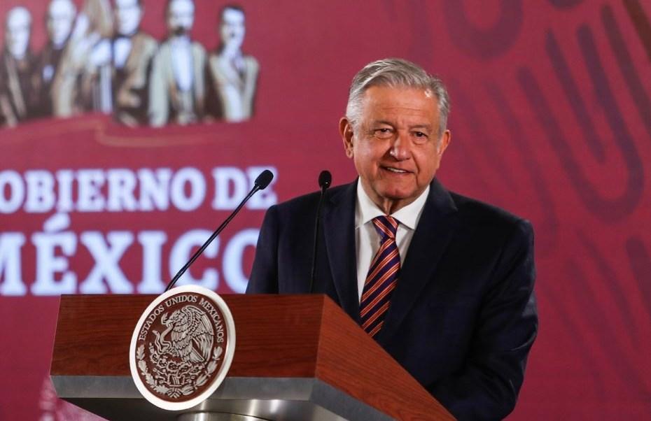 Foto: El presidente de México, Andrés Manuel López Obrador, 10 mayo 2019