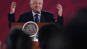 Foto: El presidente de México, Andrés Manuel López Obrador, ofrece una conferencia de prensa, 22 mayo 2019