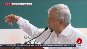 AMLO entrega apoyos de Programas del Bienestar en Apizaco, Tlaxcala