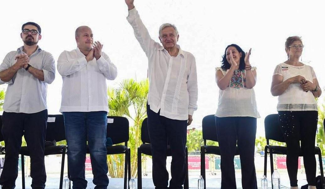 Foto: El presidente Andrés Manuel López Obrador dijo que las finanzas públicas están bien, porque se está recaudando más, el 12 de mayo de 2019 (Gobierno de México)