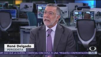 AMLO recibe oxígeno con reforma educativa, dice René Delgado