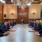Foto: En Palacio Nacional, el presidente de México, Andrés Manuel López Obrador, se reunió con gobernadores panistas o de coaliciones con el PAN, 31 mayo 2019