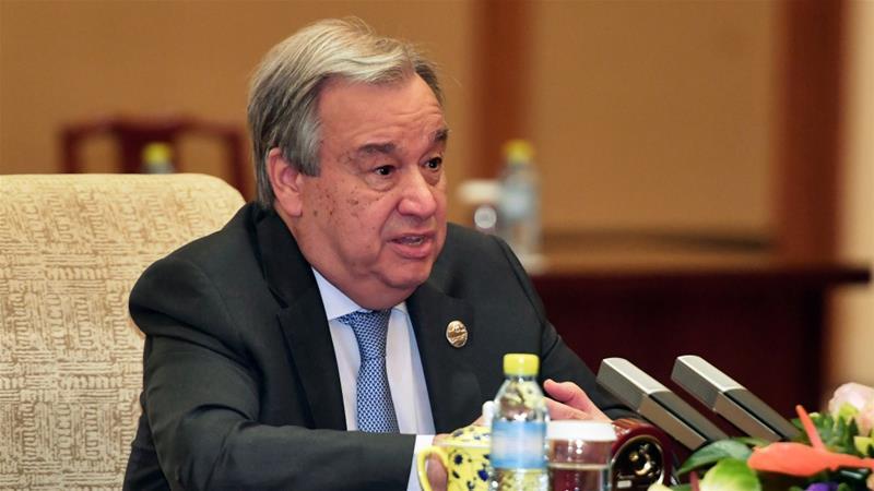 Antonio Guterres expresa su preocupación sobre el domo construido sobre el cráter de 'Cactus' en una visita oficial a las Islas Marshall (AP Images)