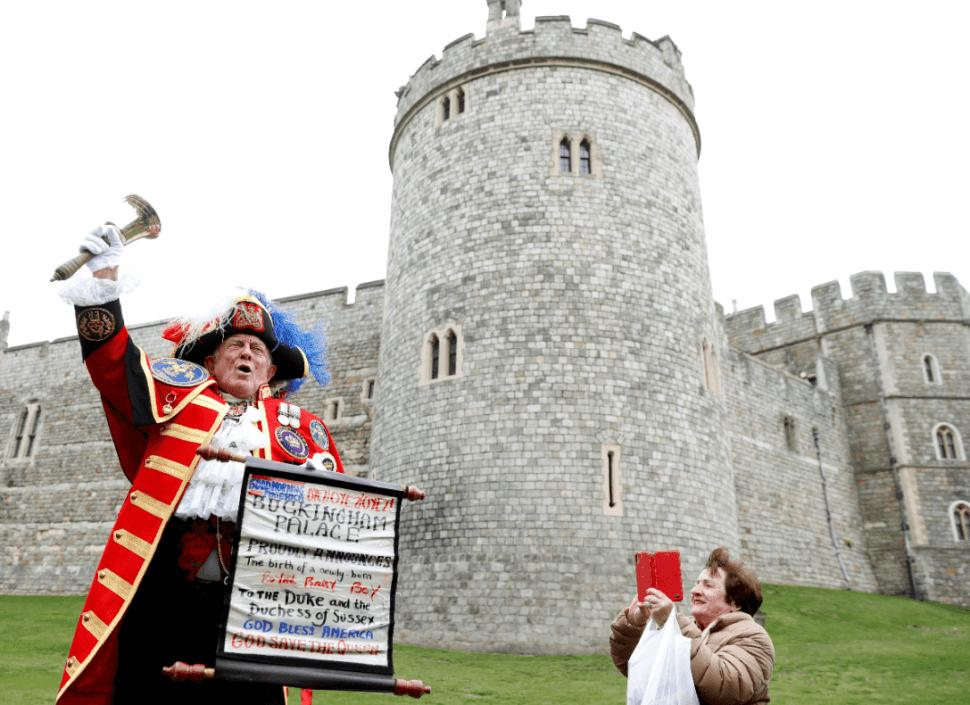 Foto: Anuncian el nacimiento del bebé de los duques de Sussex, 6 de mayo de 2019, Londres