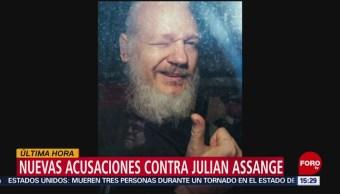 FOTO: Anuncian nuevos cargos contra Julian Assange