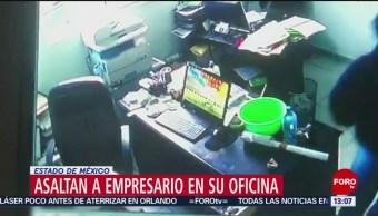 FOTO: Asaltan a empresario en su oficina en el Estado de México