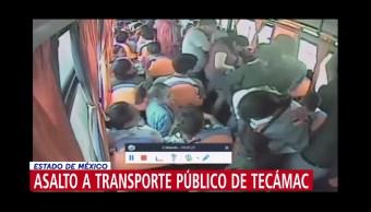 Foto: Asaltantes Transporte Público Agreden Mujer Niños Tecámac 14 de Mayo 2019