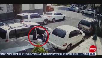 Foto: Video Robo De Autopartes Condesa Cdmx 24 Mayo 2019
