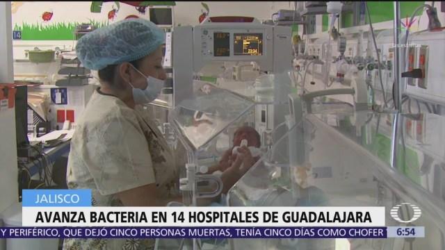Avanza bacteria en 14 hospitales de Guadalajara