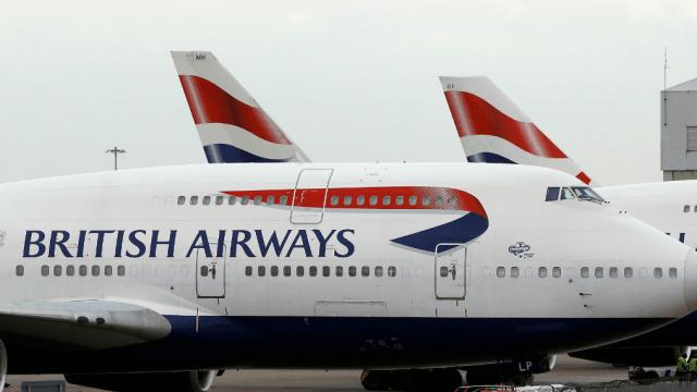 Foto: Aviones de British Airways, 27 de mayo de 2017. Londres