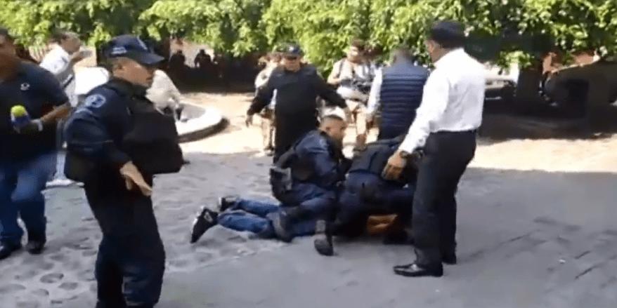 FOTO Se registra balacera en Cuernavaca, Morelos (FOROtv 8 mayo 2019)