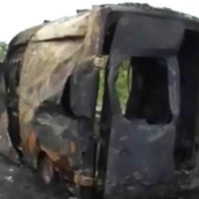 Bebé de tres meses muere quemada adentro de ambulancia