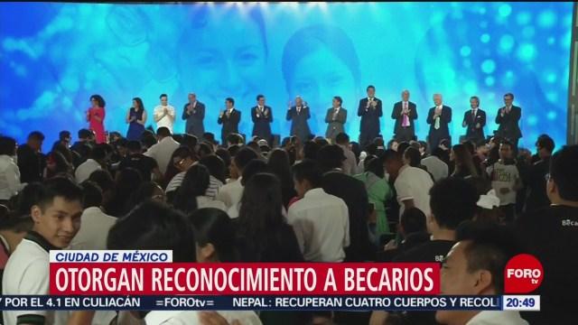 Foto: Programa Bécalos Cumple 14 Años Estudiantes México 27 Mayo 2019