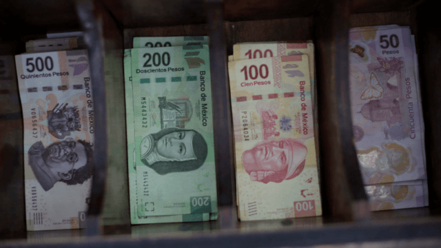 Foto: Billetes mexicanos, 13 de noviembre de 2017, México