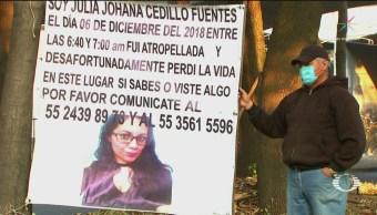 Foto: Buscan Responsable Muerte Joven Atropellada CDMX 20 de Mayo 2019