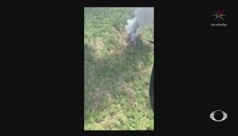 Foto: Tripulación Helicóptero Desplomó Sierra Gorda Queretao 24 Mayo 2019
