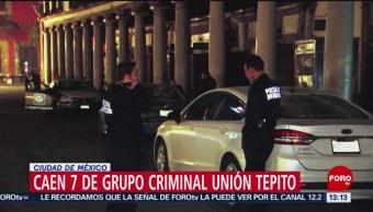 FOTO: Caen 7 de grupo criminal Unión Tepito en la CDMX