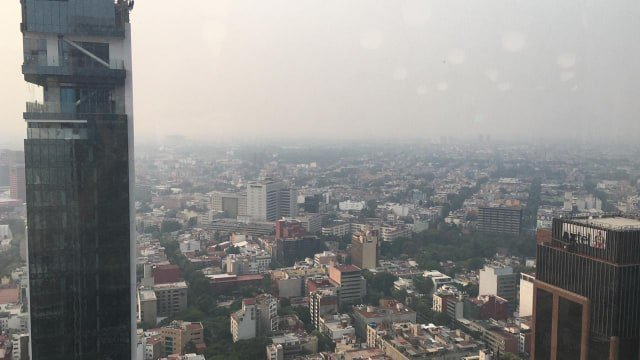 Foto Calidad del Aire muy mala en el Valle de México 14 mayo 2019