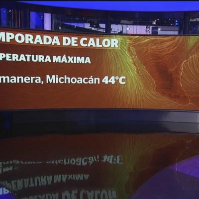 Calor afecta a gran parte de México