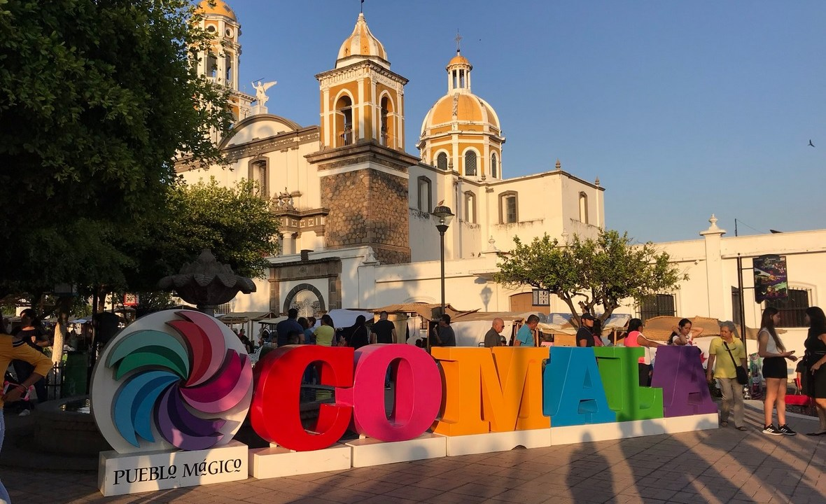 Foto: Ola de calor en Colima, 2 de mayo 2019. Twitter @berthareynoso