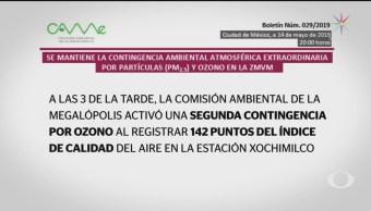Foto: Came Activa Segunda Contingencia Ozono 14 de Mayo 2019