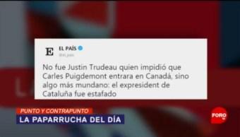 Foto: Carles Puigdemont Víctima Fake News 7 de Mayo 2019