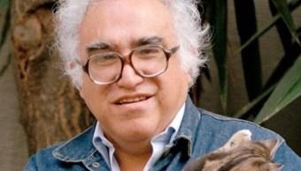 Foto: El escritor Carlos Monsiváis es recordado a 81 años de su nacimiento, mayo 4 de 2019(Twitter: @CSaizar)