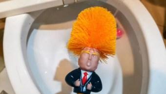 Cepillo de baño con cara de Trump, éxito de ventas en China