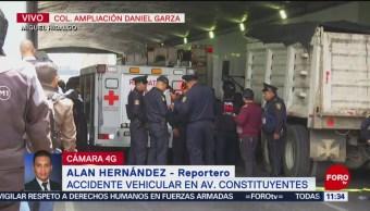 FOTO: Choque en Periférico y Constituyentes deja un muerto, 25 MAYO 2019