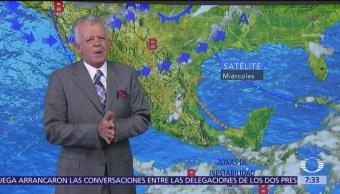 Despierta con Tiempo: Prevén tormentas nocturnas en Valle de México