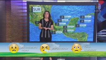 Clima Al Aire: Lluvias fuertes en oriente y sureste de México
