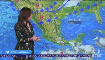 Clima Al Aire: Prevén tormentas en Coahuila, Nuevo León y Guerrero