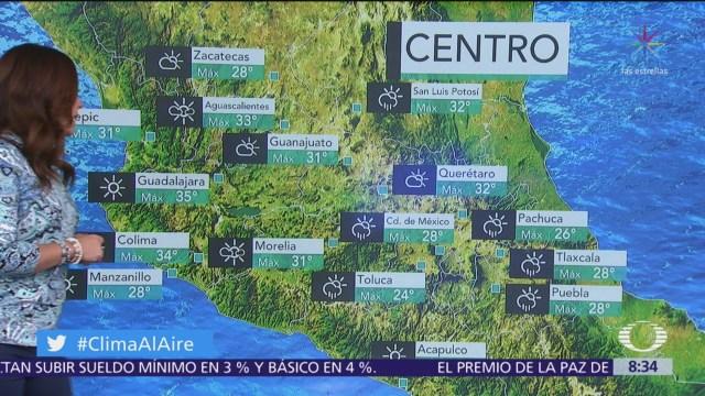 FOTO: Clima Al Aire: Pronostican chubascos en Valle de México, 1 MAYO 2019