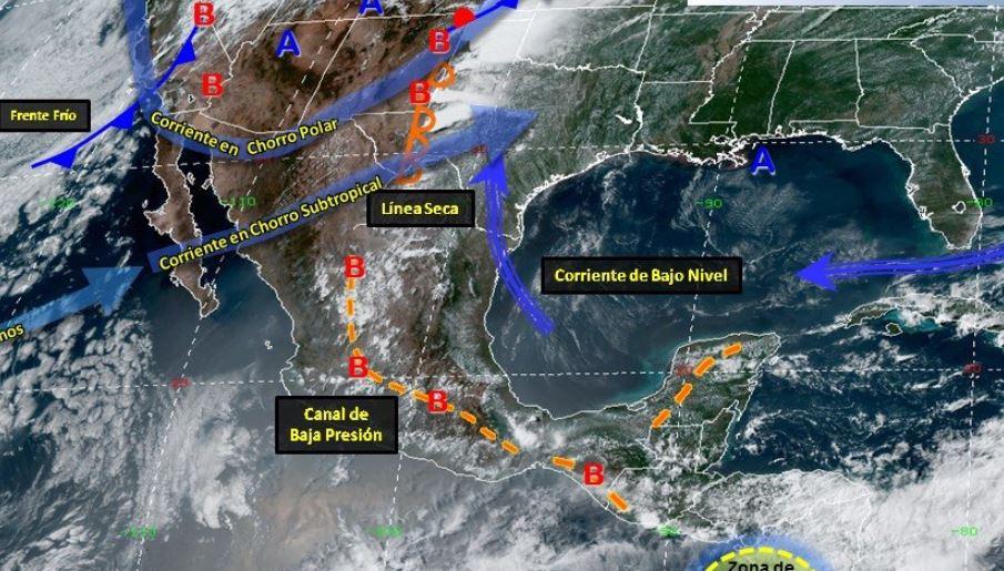 Foto: Las autoridades piden a quienes viven en zonas de riesgo mantenerse alerta ante el pronóstico de lluvias y rachas de viento para las próximas horas, el 26 de mayo de 2019 (Twitter @PC_Guerrero)