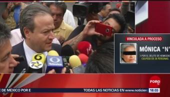 Foto: Concluye audiencia de Mónica García en CDMX