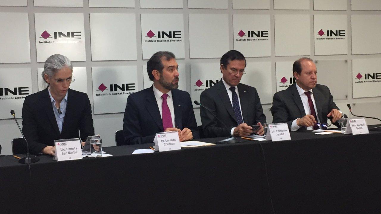 Elecciones locales serán en condiciones de seguridad, dice Lorenzo Córdova